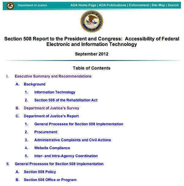 Screenshot of the report.