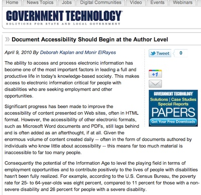 Screenshot of the article referenced.