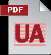 PDF/UA icon.