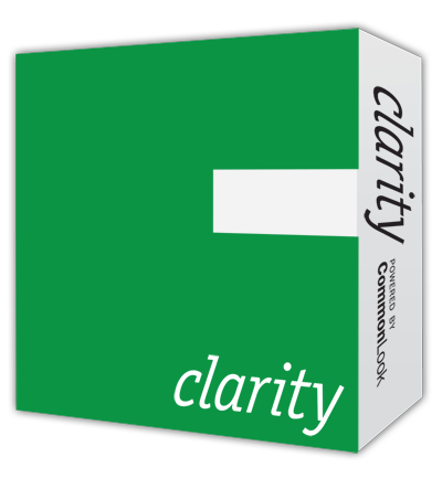 CommonLook Clarity Product Box