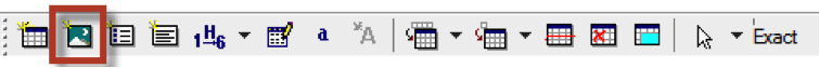 Toolbar with insert figure icon highlighted.