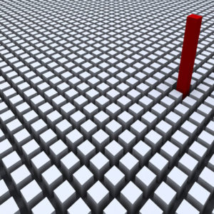 Photo of a grid